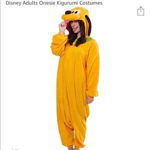 Pluto Adult Onesie costume
